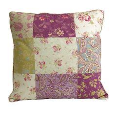 IMAX Etta May Patchwork Pattern Pillow