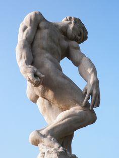Adam (sculpture)  Allerton Park & Retreat Center  Monticello, Illinois Central Illinois, John Singer Sargent, Chicago Tribune, Historical Sites, Figurative Art, Art World, Amazing Art