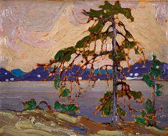 """Tom Thomson Catalogue Raisonné   Sketch for """"The Jack Pine"""", Spring 1916 (1916.30)   Catalogue entry"""