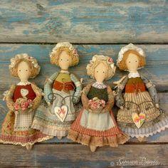 Подружки из Кэндлфорда – купить или заказать в интернет-магазине на Ярмарке Мастеров   Обратите внимание на нижнее фото: эта куколка…