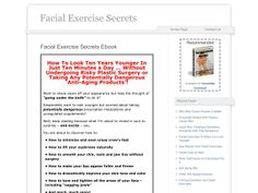 ① Facial Exercise Secrets - http://www.vnulab.be/lab-review/%e2%91%a0-facial-exercise-secrets