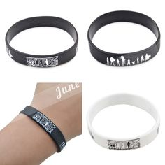 Jewelry & Accessories Honest Hot Selling Exo Rope Cuff Bangles Lovers Bracelets 2 Colors Black White Charming Jewelery Accessories Selling Well All Over The World