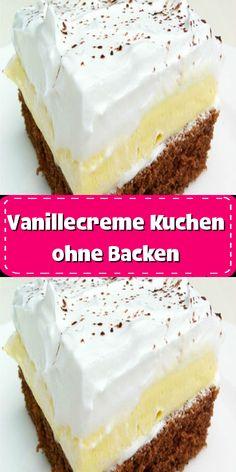 Healthy Baking, Healthy Desserts, Baking Quotes, Dessert Blog, Honey Cake, Cream Cake, Macaroons, No Bake Cake, Vanilla Cake