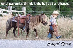 "Oh... If only ""I'd"" had the opportunity to live my love-affair with horses when I was a little girl :-)"