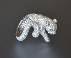 vintage cartier leopard jewelry | Cartier Panther Feline Diamond Ring in > Estate jewelry > Jewelry ...