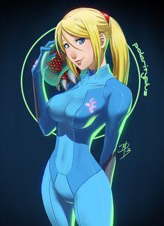 Zero Suit Samus by polarityplus on DeviantArt