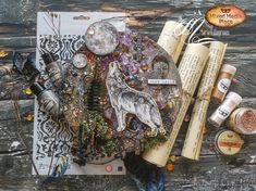 Take a look at this gorgeous project created by Maria Lillepruun! It is our monthly series called Mysterious Box :) Check our blog for more information and video. Cursed Child Book, Altered Art, Mystery, This Is Us, Mixed Media, Harry Potter, Mysterious, Create, Projects