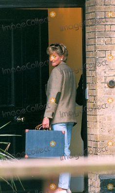 C/n 022978 6-21-1996 Princess Diana Leaving For Her Sons 14th Birthday Photo By:dave Chancellor-alpha-Globe Photos, Inc