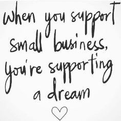 When you support a small business you're helping to pay for flute lessons, football, a first vacation or college! Or even an unexpected bill. We are so grateful for our customers who are truly our family! ❤️ Thank you for supporting our small business!