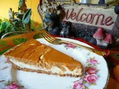 PUMPKIN PECAN CHEESE PIE - This is a tried and true low-carb treat -- a bit of work, but perfect for holiday feasts and occasions.
