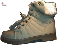 Bottes hiver, chaussures femme, modèle 1102400112001520, couleur beige, différents modèles et tailles. - Chaussures unbekannt (*Partner-Link)