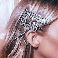 These glam hair accessories are the perfect way to finish any look, day or night! #hair #hairaccessory #hairaccessories #hairstyle #hairpin #barrette #hairbarette #glamhair #bohohair #bohemianhair