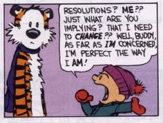 calvin and hobbes new year resolution - Google zoeken