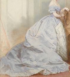 Princesse Marie de Hanovre (Détail) F.A.Tile (Boris Wilnitsky) 1868