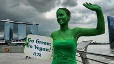 """""""Warum aber reagieren viele Menschen auf Vegetarier wie auf Angehörige eines bislang isoliert lebenden Volksstammes..."""""""
