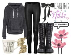 """""""The Good News Is I Named My Nickel Phillip Whats The Bad News? It's A Girl Nickel"""" by nikkikaren ❤ liked on Polyvore featuring DC Shoes, Donna Karan, Miso and MARBELLA"""