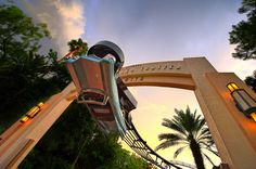 Rock n Rollercoaster at Disney's Hollywood Studios