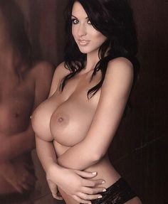Wonderful brunette with amazing tits