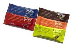 Chocolate Brownie, Wild Blueberry, Apple Cinnamon, Cherry Cashew, and Cranberry Orange Pure Bars are AKA!