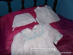 boys smocked set with vest $100 reduced to sell 0427820744 cutiepye australia