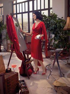 Eva Green - Campari Calendar November