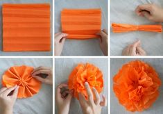 pompom tinker idea carnival party decoration at home - Informations About pompom basteln idee fasching party deko zuhause - Carnival Party Decorations, Carnival Crafts, Carnival Prizes, Halloween Decorations, Carnival Ideas, Paper Crafts, Diy Crafts, Crepe Paper, Diy Party