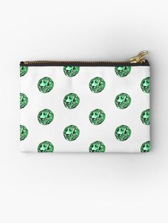 """""""The JellyPearl No.03"""" Zipper Pouch by Asmo Turunen. #design #zipperpouch #canvaspouch #kangaspussi #meikkipussi #atcreativevisuals"""