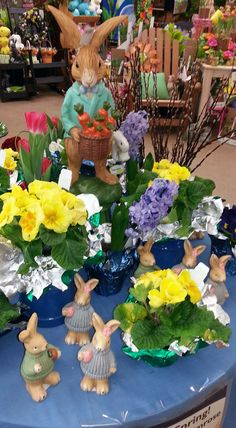 #Easter and #Spring Home Accents from Stauffers of Kissel Hill Garden Centers. Visit us at www.skh.com.