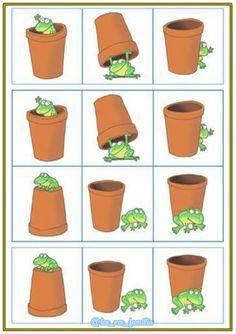 Preschool Worksheets, Preschool Learning, Preschool Activities, Teaching Kids, Preposition Activities, Frog Theme, English Activities, English Lessons, Speech And Language