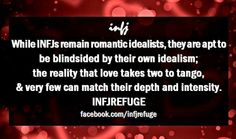 #INFJ This is why I'm single