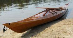 Shearwater 17 Sea Kayak: Beautiful Light Touring Kayak Kit with Sapele Decks
