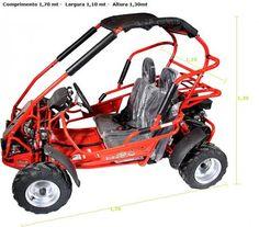 Mini Buggy Kart 168 cc R$11.055,00R$9.905,00 ComprasMuitoMais.com.br
