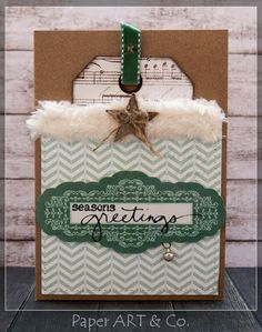 Weihnachtskarten mit ***Mistletoe Magic von My Minds Eye*** Memories Box, Paper Art, Paper Crafts, Christmas Crafts, Xmas, Stampinup, Christmas Is Coming, Mistletoe, My Mind