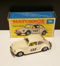 Matchbox Superfast #15 Volkswagen Saloon MINT CONDITION