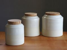 canister set by vitrifiedstudio as seen in etsy shop