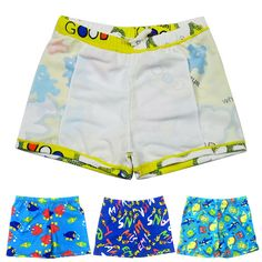 4d0bfb0d04873 Baby Boys Swimming Trunks Cartoon Polyester Bathing Suit Children Swimwear  TZ #fashion #clothing #