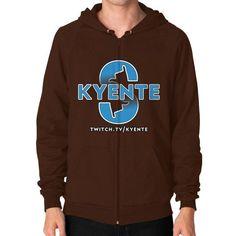 SurfsUp Kyente Zip Hoodie (on man)