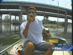 Rick Mathieu being interviewed by Gary Reaves of WFAA-TV Dallas in the flooded Ward of New Orleans on while on a rescue mission to retrieve his b. New Orleans, Interview, Community