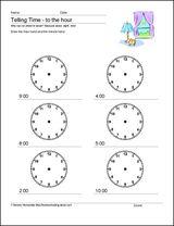 teaching time 1st grade | Creative Ideas for Teaching Time