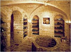 The Enchanted Home: Stellar wine cellars...uncork the possibilities!