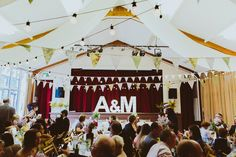 A 50's style dress for a family friendly village hall wedding in Yorkshire | Love My Dress® UK Wedding Blog