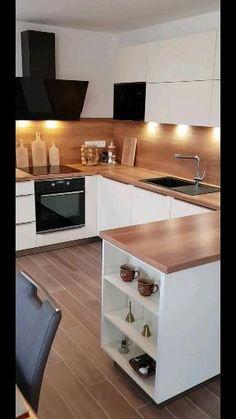 Modern Kitchen Cabinets, Kitchen Cabinet Design, Modern Kitchen Design, Kitchen Furniture, Kitchen Interior, Furniture Design, Corner Sofa Design, Dressing Room Design, Bathroom Design Small