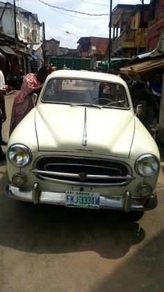 Is this the Cutest Old School Car in Lagos?