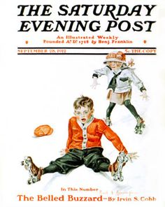 Sat Eve Post Cover ILL.  Sep 28 1912  FX Leyendecker