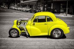 Aussie Muscle Cars, American Muscle Cars, Morris Marina, Mini Morris, Morris Minor, Futuristic Cars, Drag Cars, Small Cars, Drag Racing