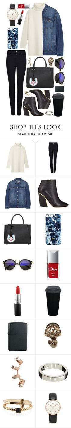 """Untitled #277"" by clary94 ❤ liked on Polyvore featuring Tory Burch, Giorgio Armani, Current/Elliott, Chloé, Fendi, Christian Dior, MAC Cosmetics, Zippo, Bernard Delettrez and Repossi"
