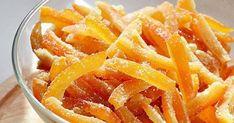 ИНГРЕДИЕНТЫ● корки четырех апельсинов● 2,5 ст. сахара● 2 ст. водыПРИГОТОВЛЕНИЕ1. Хорошо промой кожуру. Тщательно очисти ее от внутреннего белого слоя с прожилками, он будет горчить и может испортить…