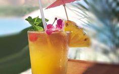 10 Hawaiian Luau Party Ideas With Great Luau Theme Decorations And Delicious Hawaiian Food Fun Drinks, Alcoholic Drinks, Beverages, Party Drinks, Summer Drinks, Mixed Drinks, Pineapple Tea, Hawaiian Luau Party, Luau Theme