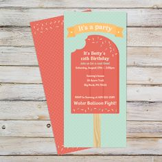 21 best summer party invitations images on pinterest in 2018