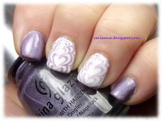 #chinaglaze IDK & #ginatricot White #stamped with BM-XL210 & #aengland Lady of the Lake